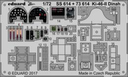 EDUARD Lepty 1/72 Ki-46-II Dinah Set for HAS