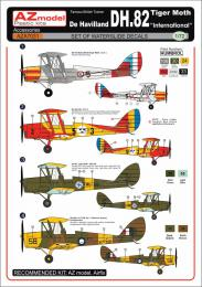 AZ MODEL 1/72 Dh-82 Tiger Moth Decals