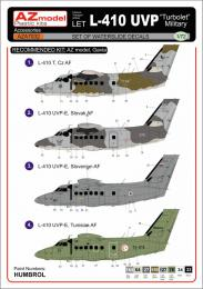 AZ MODEL 1/72 Let-410UVP Military decals