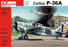 AZ MODEL 1/72 Curtiss  P-36 Pearl Harbour defender