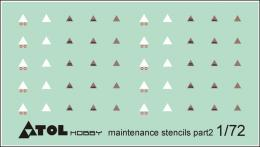 ATOL 1/72 Luftwaffe Maintenance stencils Pt.2