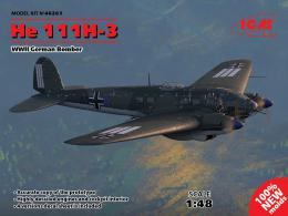 ICM 1/72 Heinkel He-111H-3 German Medium Bomber