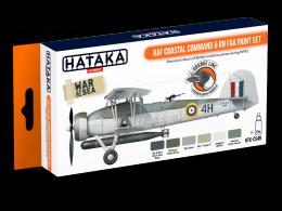 HATAKA Orange Set CS-49 RAF Coastal Command + RN FAA Paint set - Laquer type