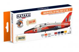 HATAKA Orange Set CS-70 Modern Royal Air Force paint set vol. 3 Laquer set