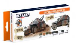 HATAKA Orange Set CS-88 Early WWII German AFV paint Set - LaquerSet