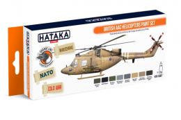 HATAKA Orange Set CS-87 British AAC Helicopter Paint set - Laquer