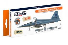 HATAKA Orange Set CS-75 Modern Hellenic AF paint set Vol.2 - Laquer