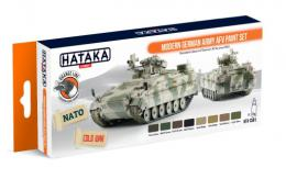 HATAKA Orange Set CS-81 Modern German Army AFV Laquer Paint