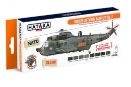 HATAKA Orange Set CS-55 Modern Luftwaffe Paint set Vol.2