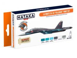 HATAKA Orange Set CS-58 Su-34 Fullback Ultimate