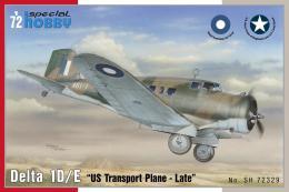 SPECIAL HOBBY 1/72 Delta 1D/E U.S Transport plane Late