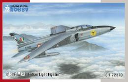 SPECIAL HOBBY 1/72 HAL Ajeet Mk.I India Light Fighter
