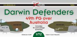 DK Decals 1/72 Curtiss P-40 Darwin Defenders - 49th FG over Australia