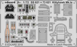 EDUARD Lepty 1/72 Kittyhawk Mk.Ia PE Set for SH