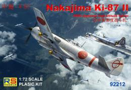 RS MODEL 1/72 Nakajima Ki-87 II Japanese High Altitude Fighter - zvìtšit obrázek