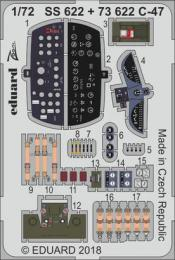 EDUARD Lepty 1/72 C-47 Skytrain PE Set for HBB