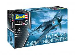 REVELL 1/32 Focke-Wulf Fw-190A-8/R11 Nightfighter