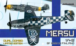 EDUARD LIMITED 1/48 Mersu, Bf-109G in Finnland DUAL COMBO