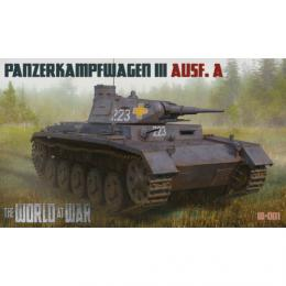 WORLD AT WAR 1/72 No.1 Pz.Kpfw III Ausf.A