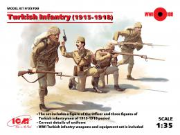 ICM 1/35 Turkish Infantry 1915-1918 (4 fig.)