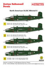 TECHMOD 1/48 B-25C Mitchell