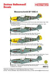 TECHMOD 1/48 Messerschmitt Bf-109E-4