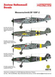 TECHMOD 1/48 Messerschmitt Bf-109F-2