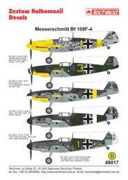 TECHMOD 1/48 Messerschmitt Bf-109F-4