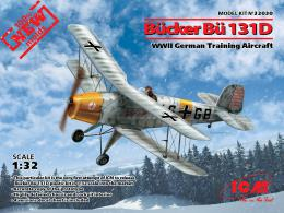 ICM 1/32 Bucker Bu-131D Jungmann WWII German Training plane