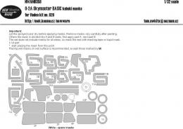 NEW WARE 1/32 Mask O-2A Skymaster BASIC for ROD