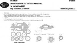 NEW WARE 1/48 Mask Me 262 A-1a BASIC (TAM 61087)