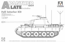 TAKOM 1/35 Pz.Kpfw V asuf.A Panther Late w/Full Interior