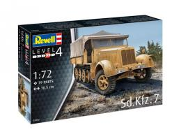 REVELL 1/72Sd.Kfz.7 Late
