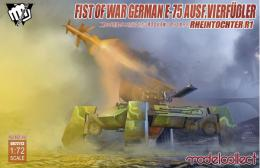 MODELCOLLECT 1/72 Fist of Wars German WWII E75 w/Rheintochter 1