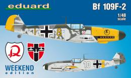 EDUARD WEEKEND 1/48 Messerschmitt Bf-109F-2