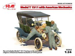 ICM 1/24 Model T 1911 Touring with American Mechanics