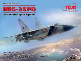 ICM 1/48 MiG-25 PD Soviet Interceptor Fighter