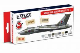 HATAKA Red Set AS97 Modern Royal Air Force paint set vol.5 8x 17ml