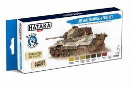HATAKA Blue Set BS94 Late WWII German AFV Paint Set 8x 17ml