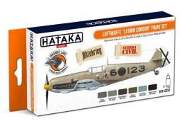 HATAKA Orange Set CS32 Legion Condor Paint set 6x 17ml