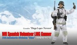 Dragon 70836 1/6 WH Spanish Volunteer LMG