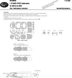 NEW WARE 1/72 Mask L-29 Delfin EXPERT for AMK 86001