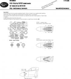 NEW WARE 1/72 Mask F4D-1 Skyray EXPERT for TAM 60741