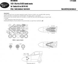 NEW WARE 1/72 Mask F4D-1 Skyray BASIC for TAM 60741