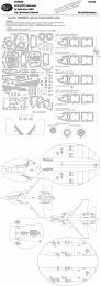 NEW WARE 1/48 Mask Su-33 EXPERT for KINETIC K48062
