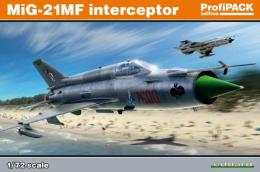 EDUARD PROFIPACK 1/72 MiG-21MF Fishbed Interceptor