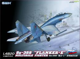 GREAT WALL HOBBY 1/48 Su-35S Flanker-E Multirole Fighter