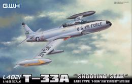 GREAT WALL HOBBY 1/48 T-33A Shooting Star