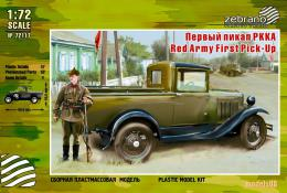 ZEBRANO 1/72 Red Army First Pick-Up( Gaz-4)