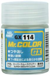 GUNZE Mr.Color GX-114 Super Smooth Clear Flat (18 ml)